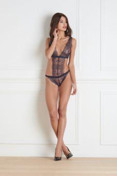 Body string triangle marine - Villa Satine