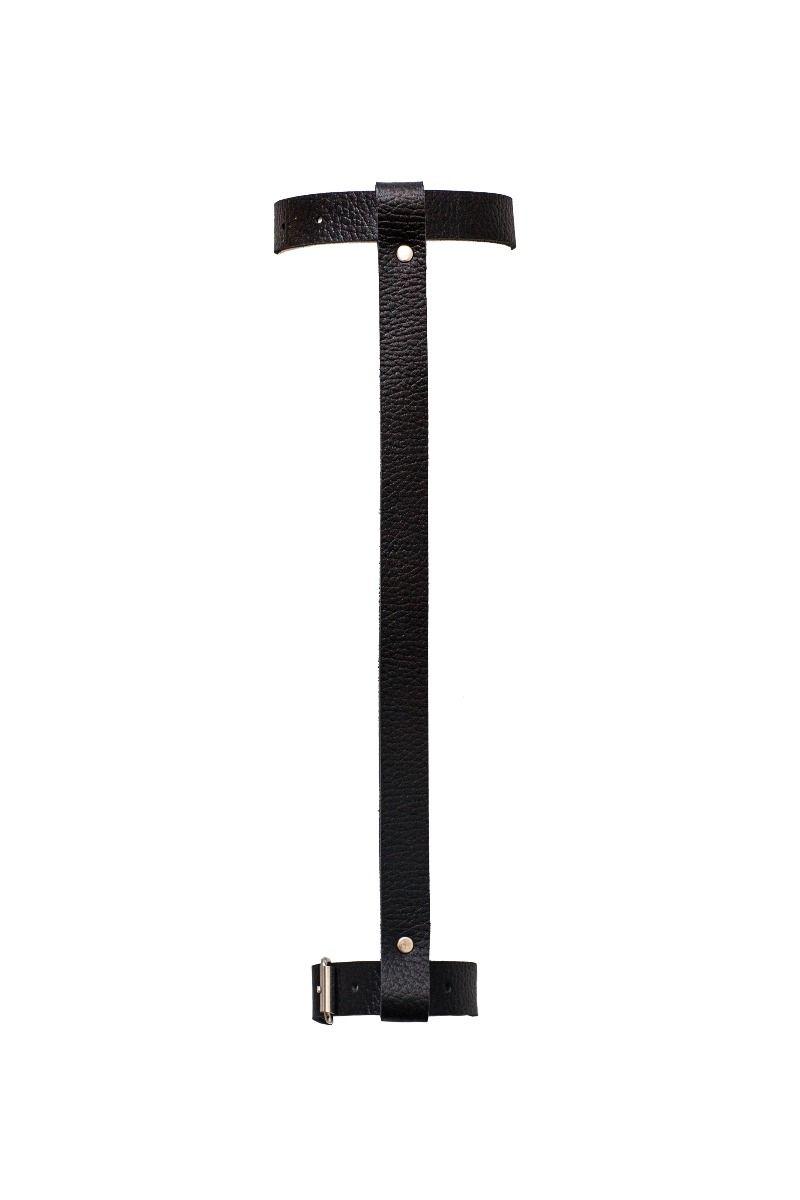 Harnais de jambes noir (paire) Accessoires