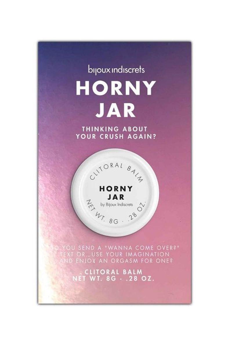 Clitoridien balm Horny jar